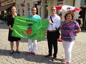 Demo_gegen_NPD_30.08.2013 in Meiningen