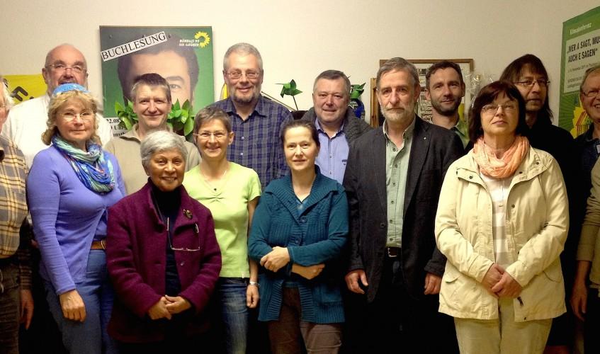 Kandidaten:innen B90:GRÜNE für 2014